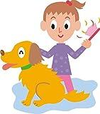 Indigos 4051719943436 Wandtattoo MD331 Alter Hund 96 x 84 cm, bunt farbig