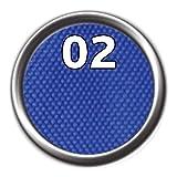 TRIXIE JULIUS K9 Powergeschirr Gr. 0-3 Hundegeschirre Hunde Brustgeschirr (L(66-85 cm/50 mm), blau)