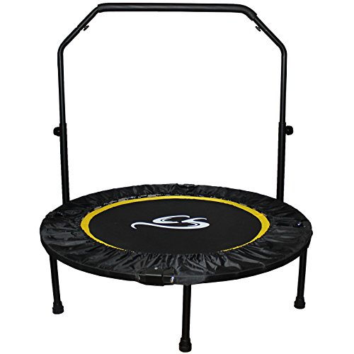 Cox Swain faltbares Indoor Trampolin Balance JUMP2, Colour: Black, Size: 102 cm