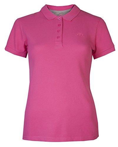 Brody & Co Damen Poloshirts, Pikee, Kurzarm, für Golf/Tennis/Fitness Gr. 38, kirschrot