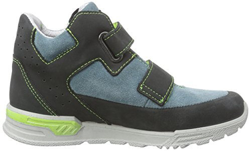 Ricosta Darius, Sneaker alta Ragazzo Grigio (Grau (schwarz/polar 483))