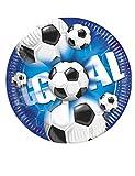 Procoscosy PR2379 Fußballteller, mehrfarbig, 10 Stück