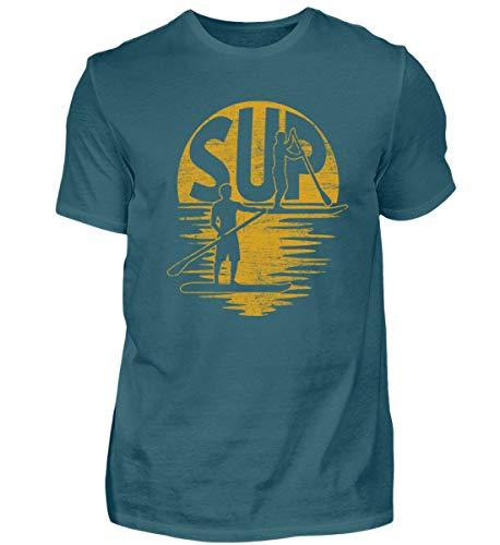 Sup - Stand up Paddling - Paddle Board Surfen Surfer Surfbrett Sport Wassersport - Herren Shirt