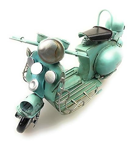 Shabby Vintage Deko Kult Roller Blech Mofa Motorrad Metall Handgemacht NEU