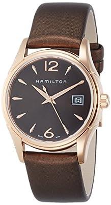 Hamilton Reloj Analogico para Mujer de Cuarzo con Correa en Tela H32341975