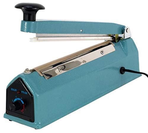 Skeisy 12 inch Sealing Machine Hand Hald Heat Sealer Plastic Body with Repair Kit