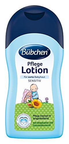 Bübchen Pflege Lotion für empfindliche und zarte Haut, 2er Pack (2 x 400 ml) - Shea-butter-formel