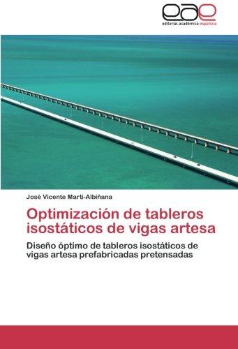 Optimización de tableros isostáticos de vigas artesa por Martí-Albiñana José Vicente