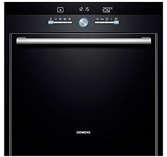 Siemens HB76G1660F four - fours (Intégré, Electrique, A, Noir, boutons, Rotatif, 50/60 Hz)