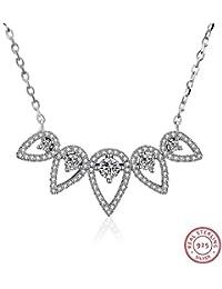da788ce9a6b6 Collar S925 collar de plata esterlina femenino japonés y coreano  personalidad de moda collar de gota