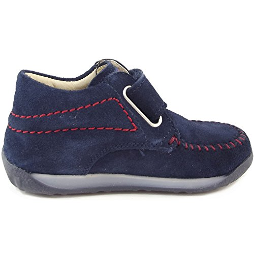 Falcotto by Naturino 1361, Chaussure de ville mixte enfant navy/rouge (navy/rosso)