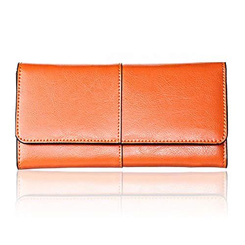 901efe48e45 JCH-lug Ladies Women Wallets Genuine Leather Purses Long Wallet Women  Elegant Female 6Colors Wallets