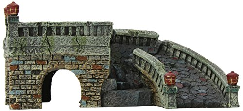 Blue Ribbon Exotic Environments Brücke, Burgfels, 8-1/2 by 5 by 4 -
