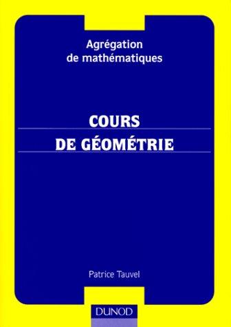 Agrégation de mathématiques: cours de géométrie