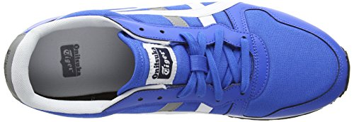 Onistuka Tiger Temp-Racer, Chaussures Multisport Outdoor Mixte adulte Bleu (Mid Blue/White 4201)