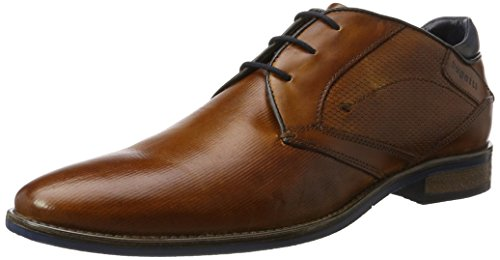 Bugatti Herren 311164302500 Klassische Stiefel, Braun (Cognac), 45 EU (Schuhe Cognac)