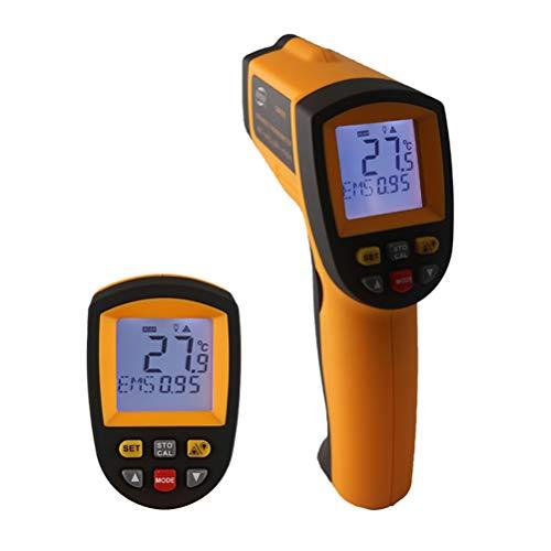 QKa Infrarot-Thermometer, Hand-Held Industrial Infrarot-Thermometer, High-Precision High-Temperatur-Elektronische Thermometer,-50 ° C ~ 900 ° C