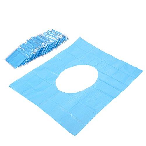 50Einweg-WC Sitzbezüge, wasserfestes Papier–Einweg WC-abdeckt, Zählen, einzeln verpackt