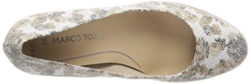 Marco Tozzi 22413, Scarpe con Tacco Donna Beige (Dune Flower)