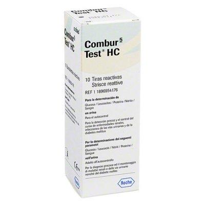 Combur 5-Test HC Urinteststreifen 10 Stück preisvergleich