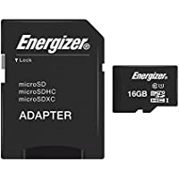 Energizer Classic Carte mémoire microSD Class 10 16 Go avec Adaptateur