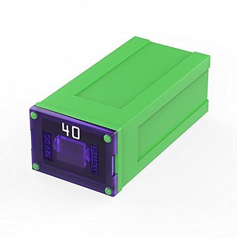 Auprotec® JCASE fusible bloque femelle OTO J fusibles japonaises choix: 40A ampère vert, 3 pièces