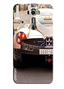 Omnam Makxveli Car Back Printed Designer Back Cover Case For Asus Zenfone 2 (ZE601KL)