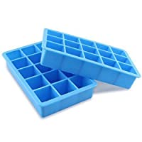 15 Grids Ice Cube Tray Food Grade Silicon Ice Box for Oven Fridge