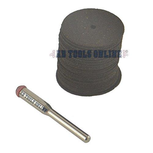 Preisvergleich Produktbild Cutting Disc Set Dremel Minicraft Rotary Tool Mini 22mm Trennscheibe SILA