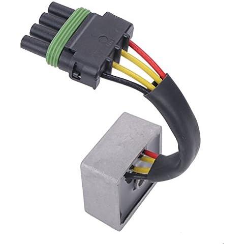 WANOOS Rectificador Regulador de Voltaje para Seadoo (OEM:278001239 278001056 GS GTS GSI GTI LE 717 720 )
