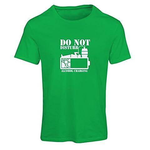 T-shirt femme Cotisation à l'alcool - idées de cadeaux de fête (Small Vert Blanc)