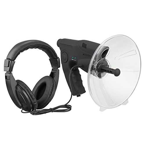 TENGGO Micrófono Parabólico X8 Monocular Bionic