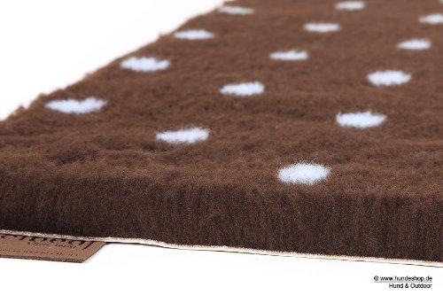 Original VetbedTM Isobed SL -Dots- braun/blau 75 x 50 cm