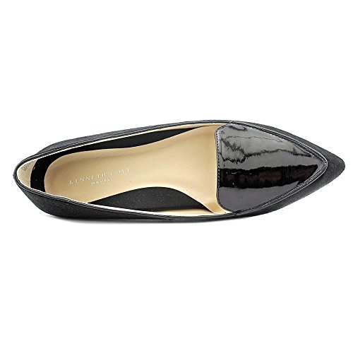 Kenneth Cole NY Gina Femmes Daim Chaussure Plate Black