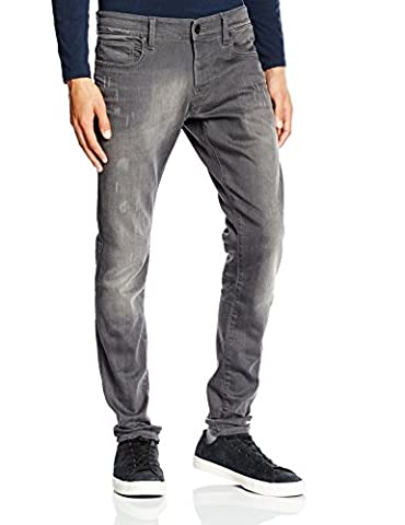 G-Star Defend - Jeans - Slim - Homme, Bleu (lt Aged Destroy 1243), W33/L32 (Taille fabricant: W33/L32)