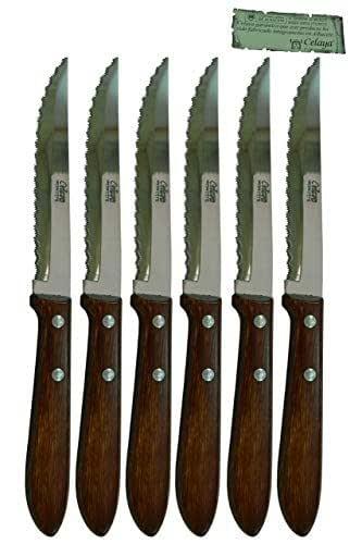 Couteau de table Bois Celaya Sierra Lot 6 Unités