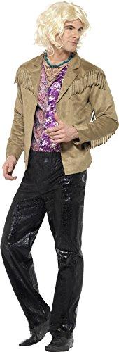 Smiffy's 20601L - Zoolander Hansel Kostüm mit Hosee Jacke mit aufgesetzter Mock Shirt und (Zoolander Outfit)