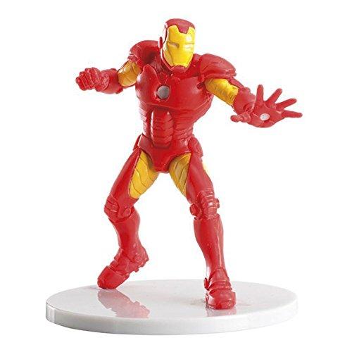 Figurine PVC personnage Iron Man Marvel Disney - Dek Déco Gâteau Anniversaire Pvc Résine - 773