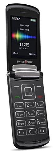swisstone SC 710 - Dual-Sim Mobiltelefon (mit extra großem beleuchtetem Farbdisplay)