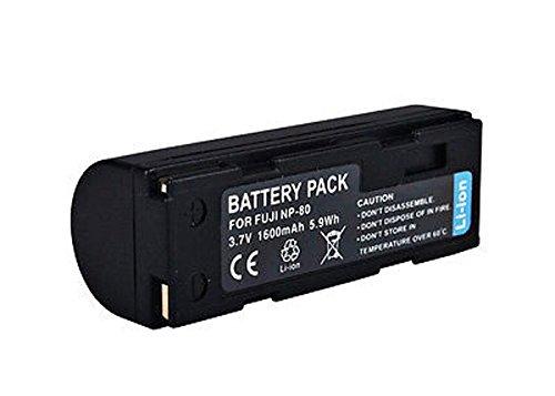 Amsahr Digital Replacement Camera and Camcorder Battery for Fuji NP80, FinePix 1700z Fuji Digital-camcorder
