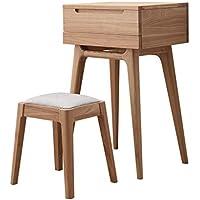 größe : S Schminktischbänke & -hocker Möbel & Wohnaccessoires TangMengYun Japanischen Stil Holz Hocker kreative runden Hocker Hocker Hocker Dressing Tisch Hocker minimalistischen modernen Arbeit gut