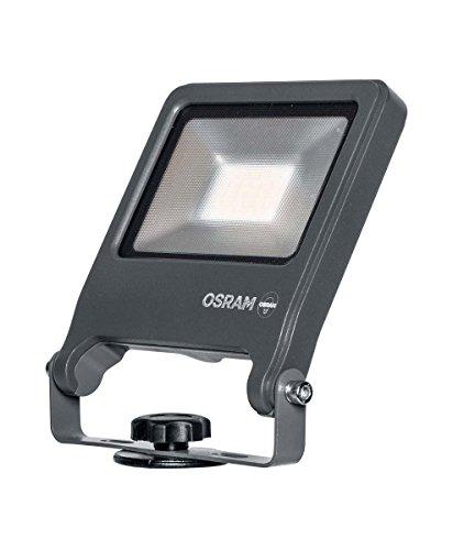 50w Flutlicht-metall (Osram LED Endura Garden Flood Spike Garten-Flutlicht, für Außenanwendungen, Warmweiß)