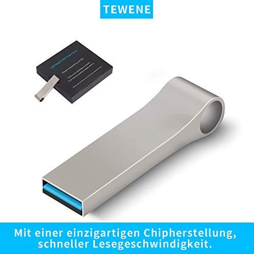 TEWENE USB Sticks 32GB USB-Flash-Laufwerk USB 3.0 bis zu 100MB/Sek