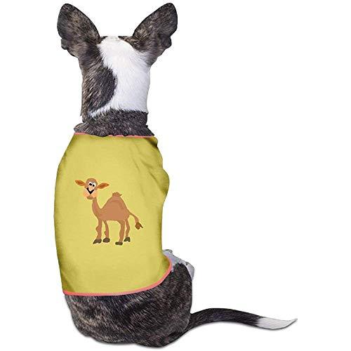 Frederih Lustige Kamel Kunst schöne Hund Katze Shirt Kostüm Haustier Sport Kleidung Pullover Welpe warme T-Shirt Outfit Tops - Katze Im Kamel Kostüm