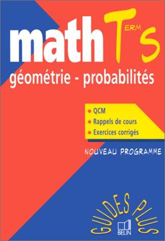 Géométrie - Probalités, terminale S