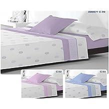Juego de cama Coralina Abbey cama de 150 02 Fresa