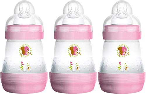 MAM, selbststerilisierend, Anti-Kolik Flaschen 160ml (3er Pack) (Parent ASIN)