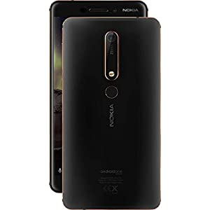 Nokia 6.1 (Black-Copper, 3GB RAM, 32GB Storage)