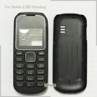 BLUTECH Replacement Full Body Housing Back, Body Panel For Nokia 1280- Black  available at amazon for Rs.199
