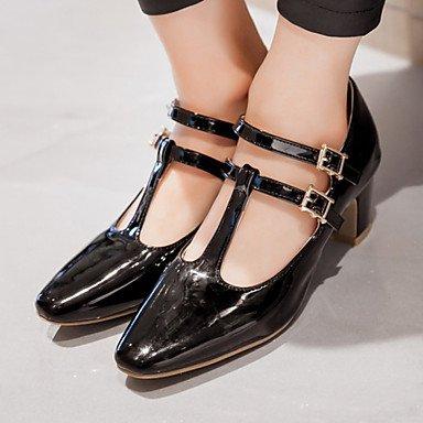 Zormey Frauen Schuhe Ferse/Square Toe/Cap-Toe Heels B¨¹ro & Amp Karriere / Kleid Schwarz/Rosa/Rot/Wei? US9 / EU40 / UK7 / CN41